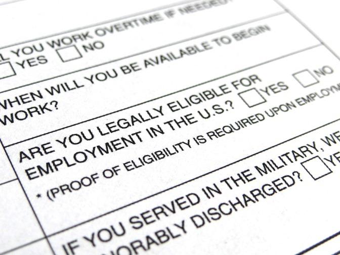 Job Application-Eligibility